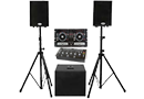 Turntable, Mixer & Speaker Packages