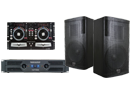 Turntable, Mixer, Speakers & Amp Packages