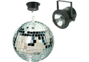 Pinspot Lights & Mirror Balls