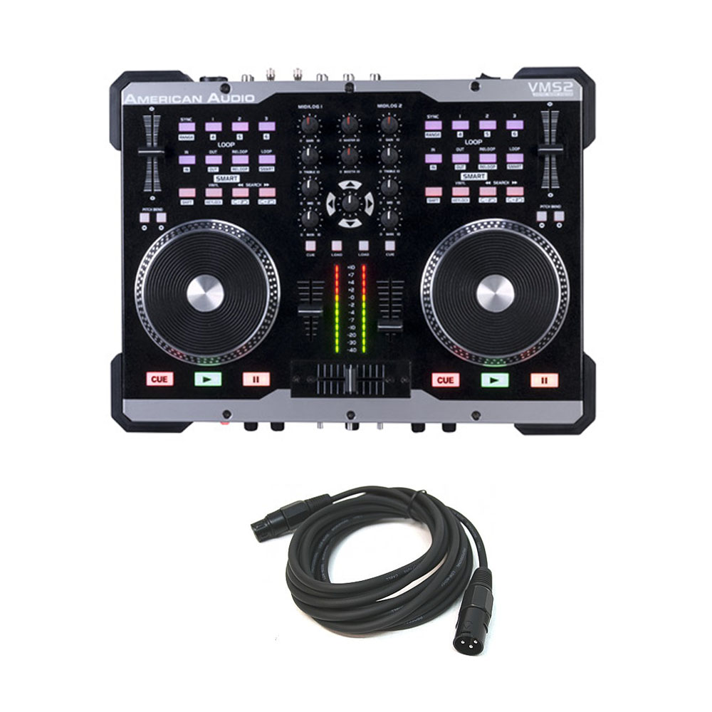 american dj vms702 vms2 midi controller equipment system with 15 39 dmx cable. Black Bedroom Furniture Sets. Home Design Ideas