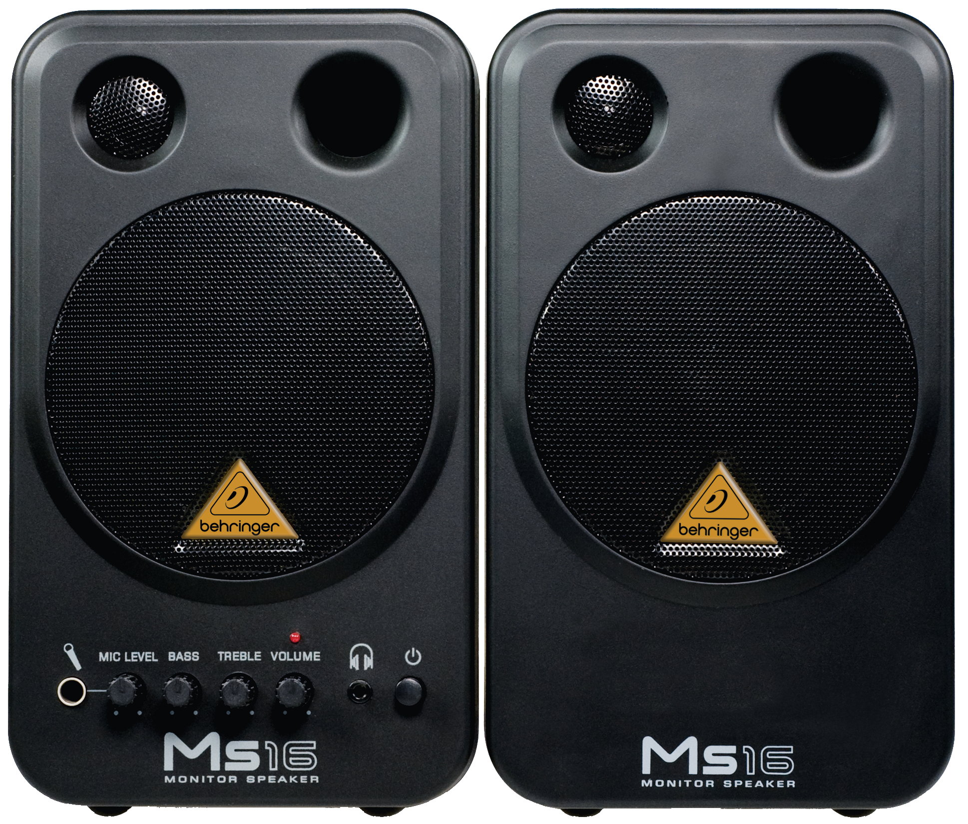 Behringer Ms16 Monitor Speakers High Performance Active