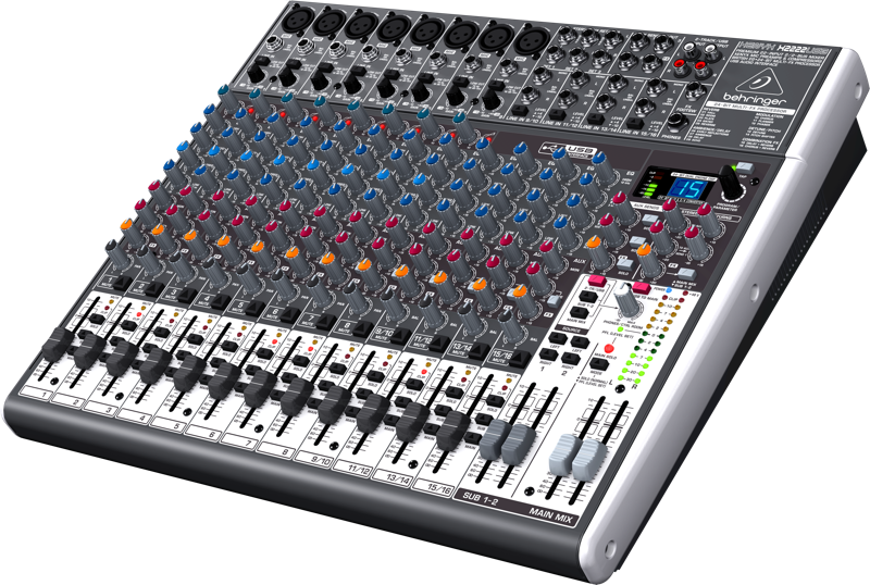 behringer x2222usb premium 22 input 2 2 bus mixer with xenyx mic preamps compressors british. Black Bedroom Furniture Sets. Home Design Ideas