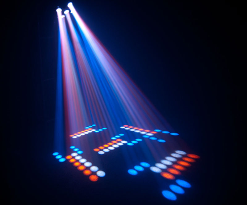 Chauvet Professional Circus Led Multi Colored Effect Beams