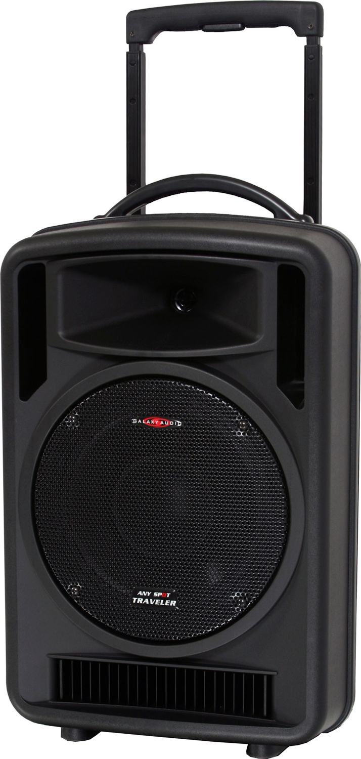 Galaxy audio as tv10c1 10 portable pa system w cd player - Mobile porta cd ...