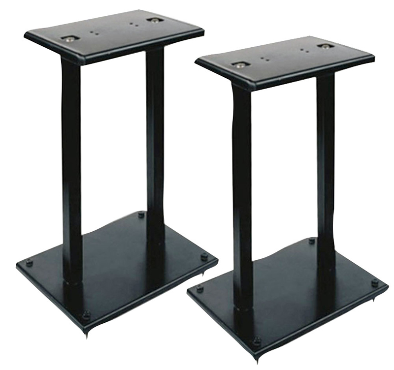 Pyle pro pstnd13 heavy duty steel construction double for Construction stand