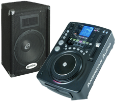 DJ CD Players & Speakers