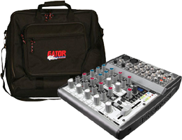 10 Channel DJ Mixer & Cases