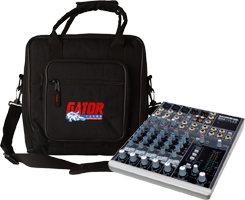8 Channel DJ Mixer & Cases