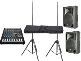 DJ Speakers & Mixers