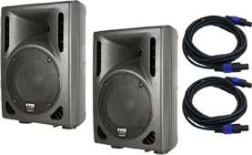 8-inch PA Speaker Pairs here at SmartDj.com