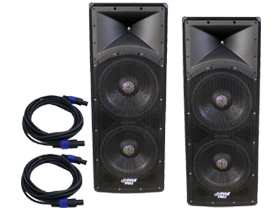 PA Speaker Pair by DJ System only here at SmartDJ.com