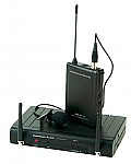 American Audio WM 16LAV Pro Audio 64CH Wireless Vocal Microphone Mic System
