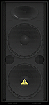 "Behringer VP2520 Professional 2000-Watt PA Speaker with Dual 15"" Woofers and 1.75"" Titanium-Diaphragm Compression Driver"