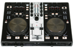 Gemini CTRL SIX Professional DJ USB/MIDI Media Controller with Soundcard