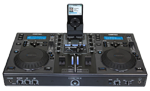 Cortex DMIX-600 Dual Mixing Turntable Media Controller with iPod Dock