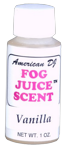 American DJ F-SCENTS VANILLA Smell Solution for Smoke Fog Machines