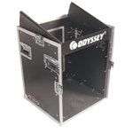 Odyssey FZ1012 Flight Zone DJ Combo Rack 10U Slant x 8U Vertical