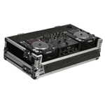 Odyssey Cases FZDNX12000E Medium Duty DJ Coffin for 2 Denon DN-S1200 CD Players & DN-X120 Mixer