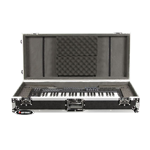 Odyssey FZKB49W Flight Zone Rugged 49 Note Keyboard Case w/ Wheels