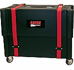 Gator Cases G-112-ROTO Molded Mil-Grade PE Case & Stand w/ Wheels for 1X12 Combo Amps