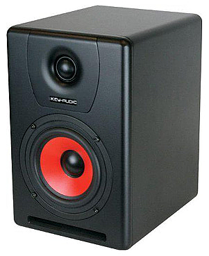iKey Audio M-606v2 6-inch 2-Way Active Studio Monitor Speaker 90 Watts