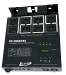 Elation PP-DMX20L DMX 4 Channel On/Off Switching Power Pack