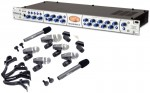 Pro Audio PreSonus Eureka 1CH Preamplifier / Compressor Channel Strip with Pyle 7 Mic Drim Kit Package