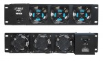 Pyle Pro Audio PFN31 19'' Rack Mount Cooling Fan System
