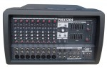 Pyle Pro Audio PMX1204 12 Channel Powered 600 Watts PA Mixer/Amplifier