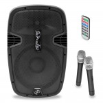 Pyle-Pro PPHP159WMU 15-Inch 1600 Watts Bluetooth Portable Loudspeaker System