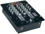 American Audio Q-D6 Pro DJ 3 Channel Balanced Outputs Mixer