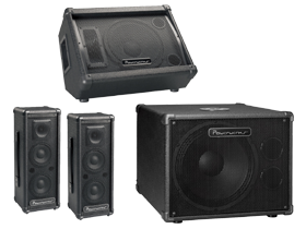 Powerwerks PA Speakers