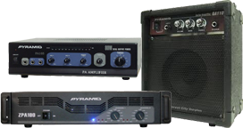 Pyramid Amplifiers at SmartDJ.com