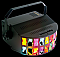 American DJ AGGRESSOR Multi Color 20 Beam Lighting Derby Lamp