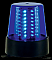 American DJ B6B LED Multi Mode Rotating Blue Beacon Light