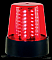 American DJ B6R LED Multi Mode Rotating Red Beacon Light