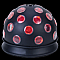 American DJ MINI TRI BALL Sound Activated 56 Beam Light Effect