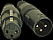 Accu Cable ACXLR3PSET 1 Male & 1 Female 3 Pin XLR Connectors