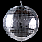 "Chauvet MB-20 20"" Disco Mirror Ball W/ Molded Motor Ring"