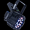 Elation OPTI TRI PAR Tri-Color LED RGB PAR Can Fixture (Black)
