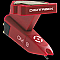 Ortofon  OMDIGITRACK-S Red Body Single Cartridge Pack w/ Red Spherical Stylus