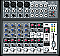 Behringer 1202 XENYX 12-Input 2-Bus Mixer with Mic Preamps