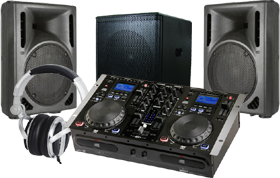 Turntables & Speakers-CD Players