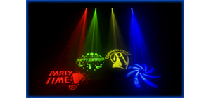 Club & Stage Projector Light Effects